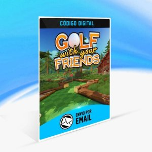 Golf With Your Friends - Xbox One Código 25 Dígitos