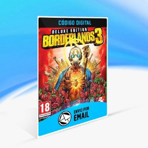 Jogo Borderlands 3 Deluxe Steam - PC Key