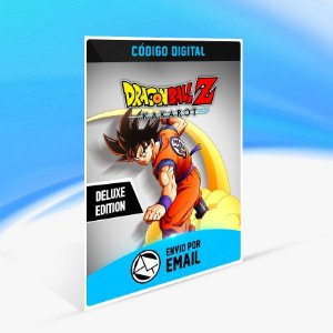 Jogo DRAGON BALL Z  KAKAROT - Deluxe Edition Steam - PC Key