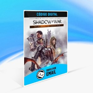 Jogo Middle-earth Shadow of War Definitive Edition Steam - PC Key