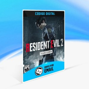 Jogo RESIDENT EVIL 2 BIOHAZARD RE 2 - DELUXE EDITION Steam - PC Key