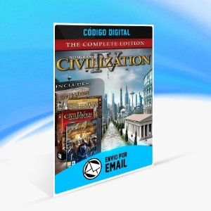 Jogo Sid Meier's Civilization IV The Complete Edition Steam - PC Key