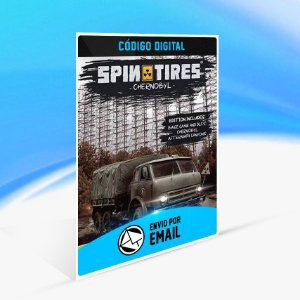 Jogo Spintires - Chernobyl Bundle Steam - PC Key