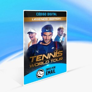 Jogo Tennis World Tour - Legends Edition Steam - PC Key