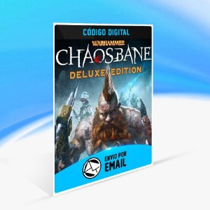 Jogo Warhammer  Chaosbane - Deluxe Edition Steam - PC Key