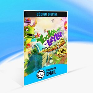 Jogo Yooka-Laylee and the Impossible Lair - Deluxe Edition Steam - PC Key