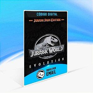 Jurassic World Evolution: Edição Parque Jurássico - Xbox One Código 25 Dígitos