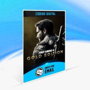 Just Cause 4 - Edição Gold - Xbox One Código 25 Dígitos