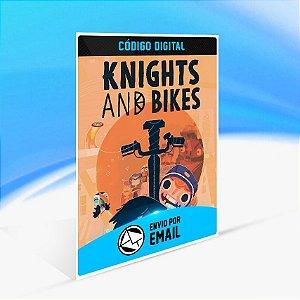 Knights and Bikes - Nintendo Switch Código 16 Dígitos