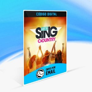 Let's Sing Country - Xbox One Código 25 Dígitos