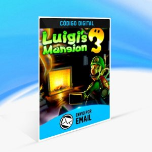 Luigi's Mansion 3 - Nintendo Switch Código 16 Dígitos