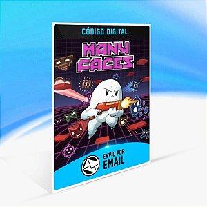 Many Faces: Console Edition - Xbox One Código 25 Dígitos