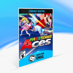 Mario Tennis Aces - Nintendo Switch Código 16 Dígitos