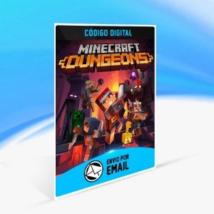 Minecraft Dungeons - Nintendo Switch Código 16 Dígitos