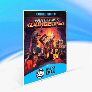 Minecraft Dungeons - Xbox One Código 25 Dígitos