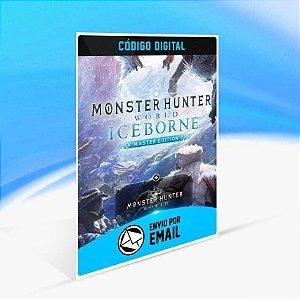 Monster Hunter World: Iceborne Master Edition - Xbox One Código 25 Dígitos