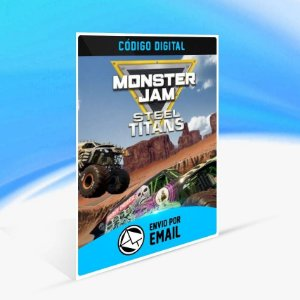 Monster Jam Steel Titans - Xbox One Código 25 Dígitos