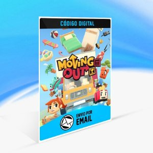 Moving Out - Nintendo Switch Código 16 Dígitos