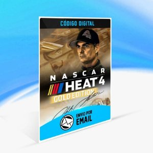 NASCAR Heat 4 - Gold Edition - Xbox One Código 25 Dígitos