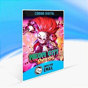 Neon City Riders - Xbox One Código 25 Dígitos