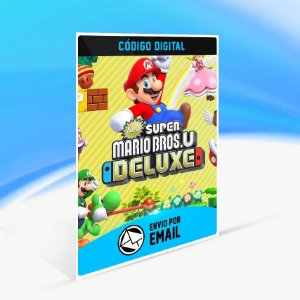 New Super Mario Bros. U Deluxe - Nintendo Switch Código 16 Dígitos