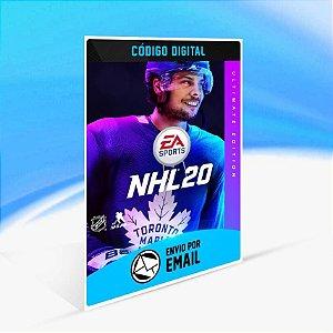 NHL™ 20 Edição Ultimate - Xbox One Código 25 Dígitos