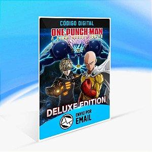 ONE PUNCH MAN: A HERO NOBODY KNOWS Deluxe Edition - Xbox One Código 25 Dígitos