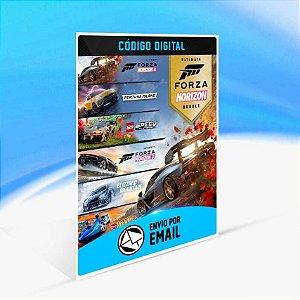 Pacote de Edições Supremas do Forza Horizon 4 e Forza Horizon 3 - Xbox One Código 25 Dígitos