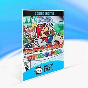 Paper Mario The Origami King - Nintendo Switch Código 16 Dígitos
