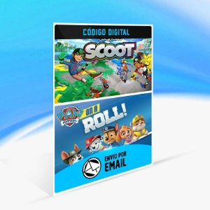 Paw Patrol: On a Roll and Crayola Scoot - Xbox One Código 25 Dígitos