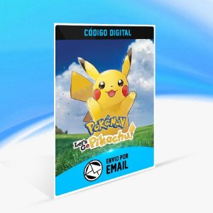 Pokémon Let's Go, Pikachu! - Nintendo Switch Código 16 Dígitos
