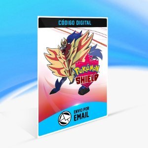 Pokémon™ Shield - Nintendo Switch Código 16 Dígitos