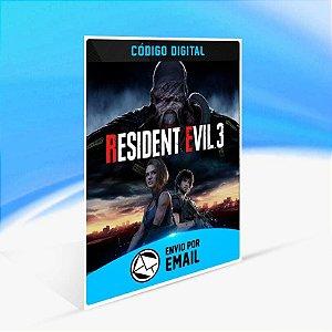 RESIDENT EVIL 3 - Xbox One Código 25 Dígitos