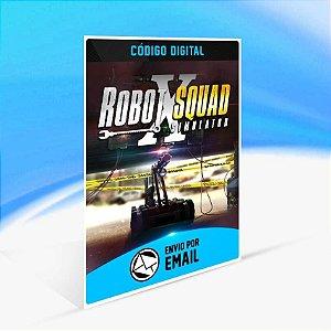 Robot Squad Simulator X - Xbox One Código 25 Dígitos