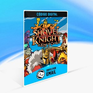 Shovel Knight King of Cards - Nintendo Switch Código 16 Dígitos