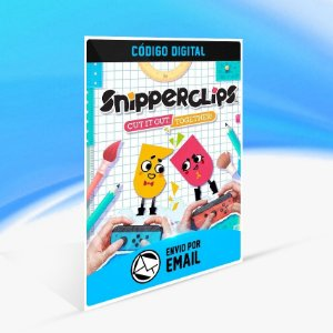 Snipperclips - Cut it out, together! - Nintendo Switch Código 16 Dígitos
