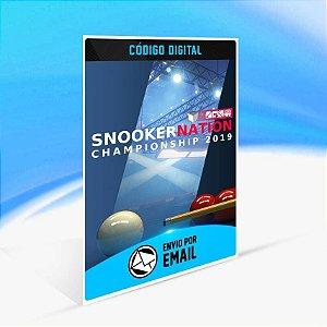 Snooker Nation Championship - Xbox One Código 25 Dígitos