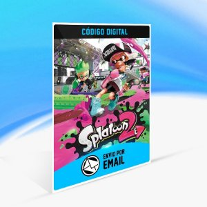 Splatoon 2 - Nintendo Switch Código 16 Dígitos