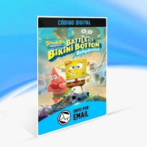 SpongeBob SquarePants: Battle for Bikini Bottom - Rehydrated - Xbox One Código 25 Dígitos