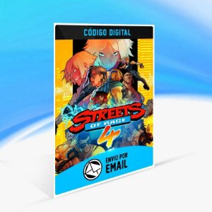 Streets of Rage 4 - Xbox One Código 25 Dígitos