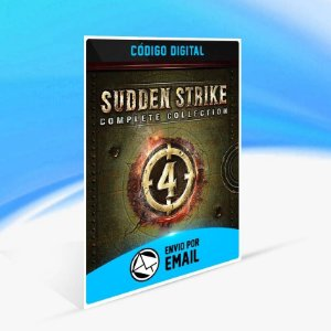 Sudden Strike 4 - Complete Collection - Xbox One Código 25 Dígitos