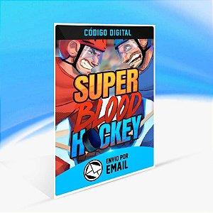 Super Blood Hockey - Xbox One Código 25 Dígitos
