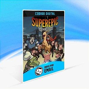 SuperEpic: The Entertainment War - Xbox One Código 25 Dígitos