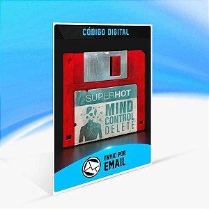 SUPERHOT: MIND CONTROL DELETE - Xbox One Código 25 Dígitos