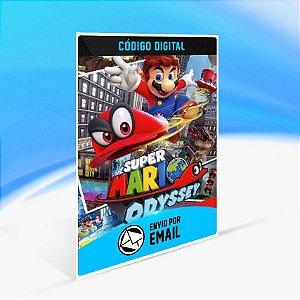 Super Mario Odyssey - Nintendo Switch Código 16 Dígitos
