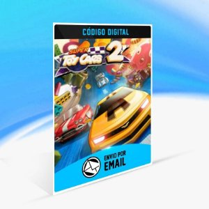 Super Toy Cars 2 - Xbox One Código 25 Dígitos