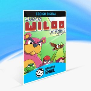 Super Wiloo Demake - Xbox One Código 25 Dígitos