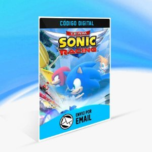 Team Sonic Racing - Xbox One Código 25 Dígitos