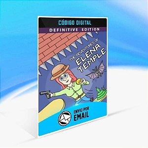 The Adventures of Elena Temple: Definitive Edition - Xbox One Código 25 Dígitos