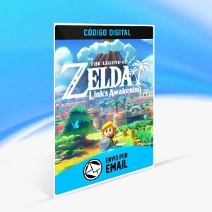 The Legend of Zelda Link's Awakening - Nintendo Switch Código 16 Dígitos